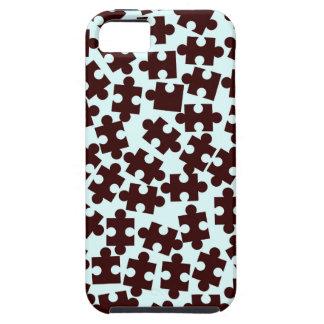 Random Jigsaw Pieces iPhone 5 Case