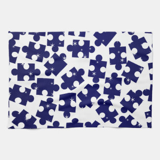 Random Jigsaw Pieces Kitchen Towel