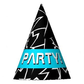 Random Lightning Party Hat