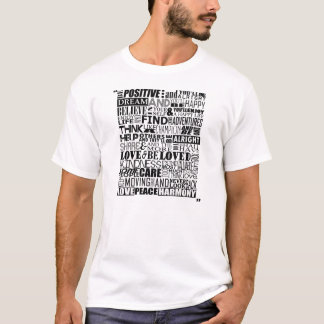 Random Motivational Words T-Shirt