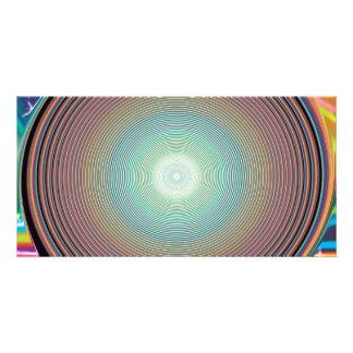 RANDOM OVERVIEW FRACTALS DIGITAL ART PHOTO CARD