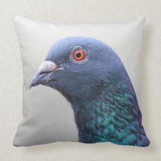 Random Pigeon Throw Pillow