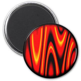 Random Planets 2 Inch Round Magnet