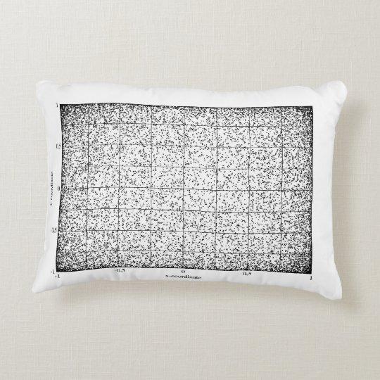 Random Points Accent Pillow