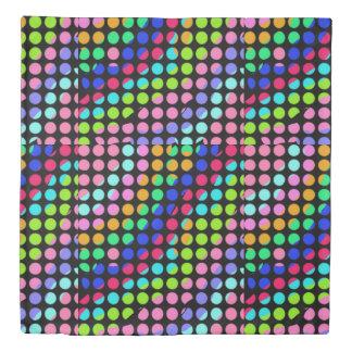 random polka dots Thunder_Cove Duvet Cover