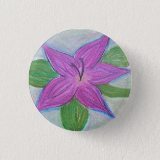 random purple flower button