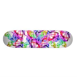 Random Rainbow Custom Skateboard