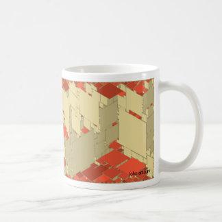 random rhombi coffee mug