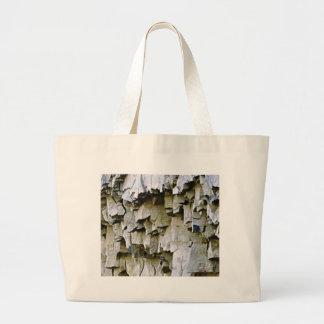 random rock ruffles large tote bag