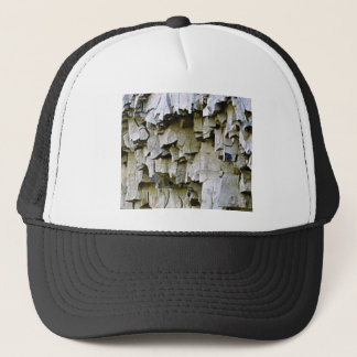 random rock ruffles trucker hat
