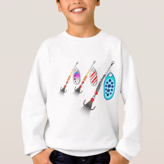 Random set of spinners different colors vector sweatshirt