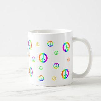 Random Signs Of Peace Coffee Mug