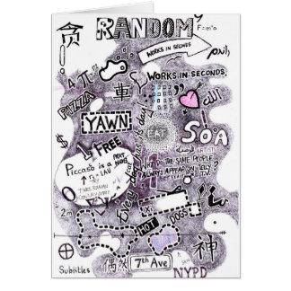 Random Sketch Card