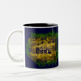 Randomness Two-Tone Coffee Mug