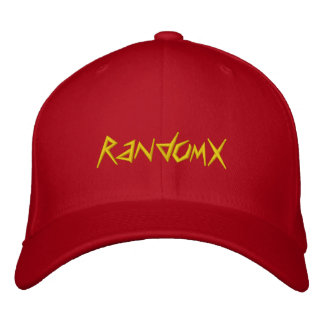 RandomX Embroidered Baseball Cap