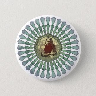 Randy Castillo Mandala Button