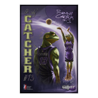 Randy Catcher Poster