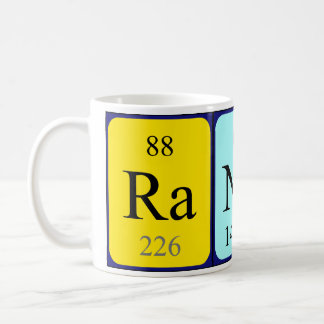 Randy periodic table name mug