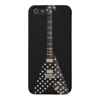 Randy Rhoads Polka Dot Flying V Guitar iPhone 5 Case