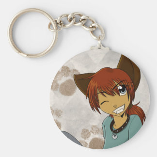 Randy the Weredog Keychain