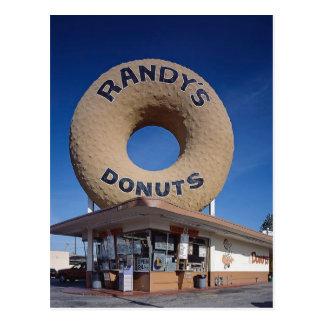 Randy's Donuts California Architecture Postcard