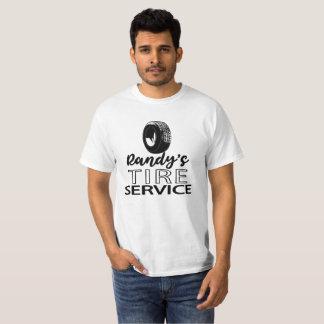 Randy's Tire Service | Black Logo | You Customize T-Shirt