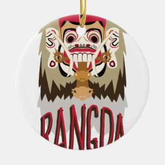 Rangda Ceramic Ornament