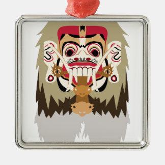 Rangda Metal Ornament