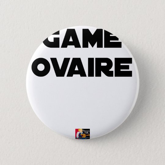 Range Ovary - Word games - François City 2 Inch Round Button