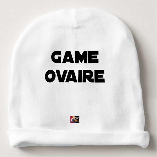 Range Ovary - Word games - François City Baby Beanie