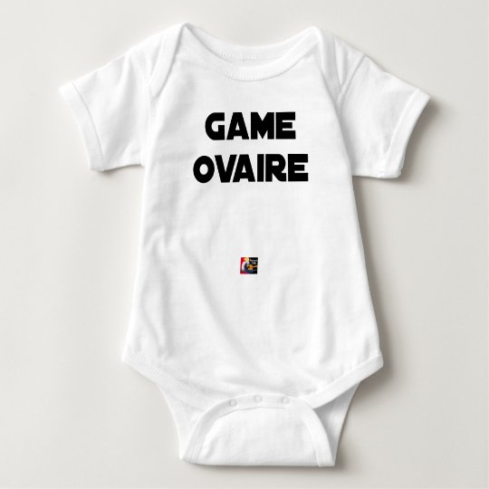 Range Ovary - Word games - François City Baby Bodysuit