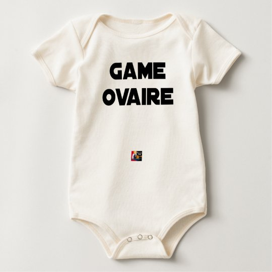 Range Ovary - Word games - François City Baby Bodysuit