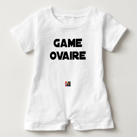 Range Ovary - Word games - François City Baby Romper