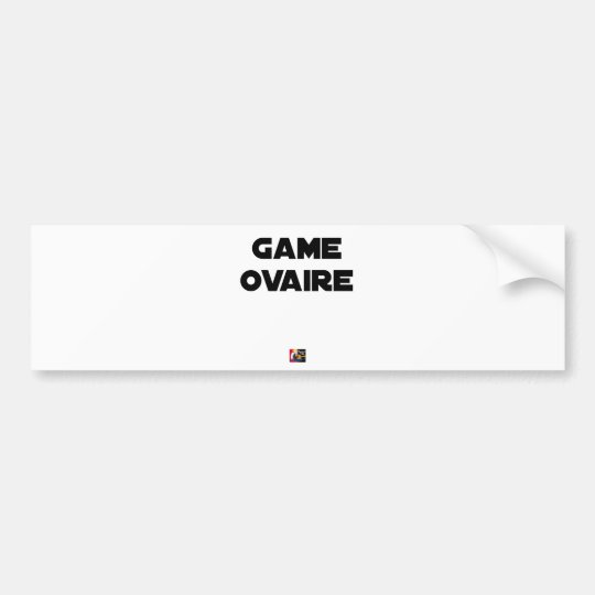 Range Ovary - Word games - François City Bumper Sticker