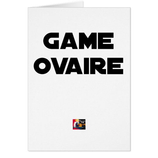 Range Ovary - Word games - François City Card