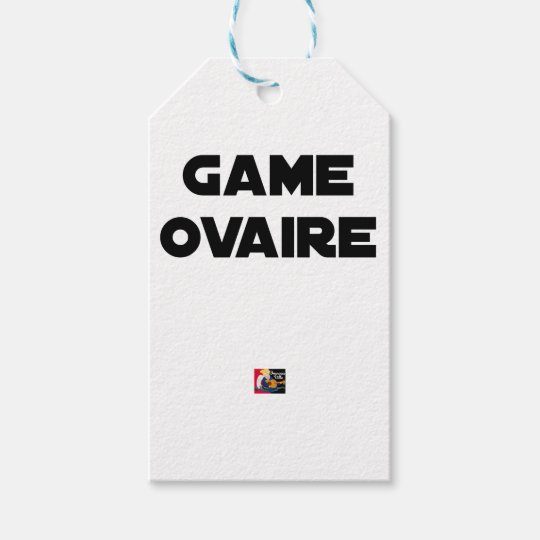 Range Ovary - Word games - François City Gift Tags