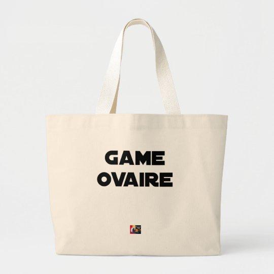 Range Ovary - Word games - François City Large Tote Bag