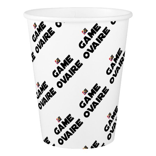 Range Ovary - Word games - François City Paper Cup