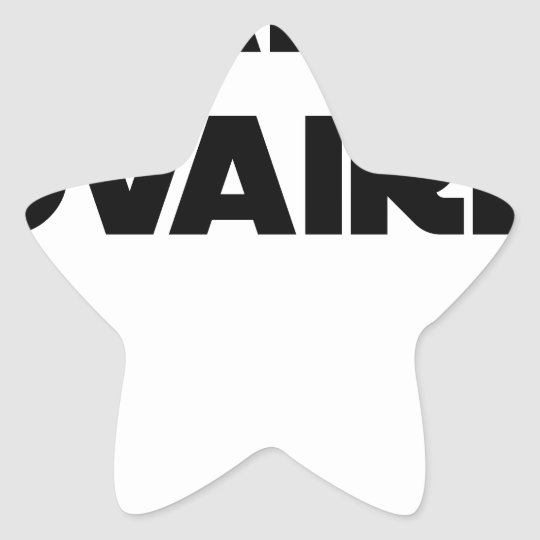 Range Ovary - Word games - François City Star Sticker