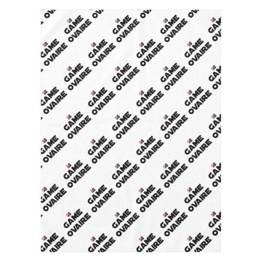 Range Ovary - Word games - François City Tablecloth