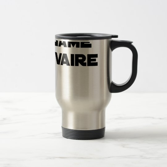 Range Ovary - Word games - François City Travel Mug