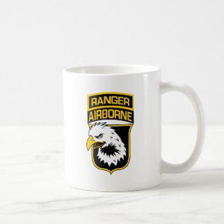 Ranger Airborne Eagle Patch Classic White Coffee Mug