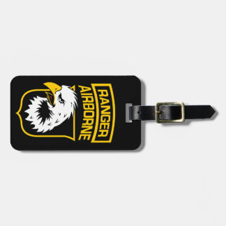 Ranger Airborne Eagle Patch Luggage Tag