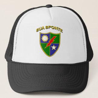 Ranger crest 3 - Sua Sponte Trucker Hat