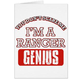 Ranger genius greeting cards