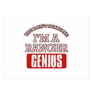 Ranger genius post card