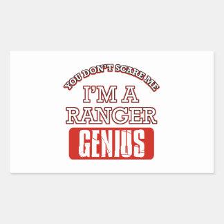 Ranger genius sticker