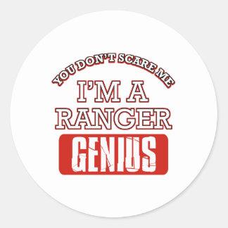 Ranger genius stickers