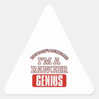Ranger genius triangle stickers