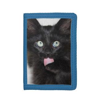 Ranger Kitten Tri-Fold Nylon Wallet